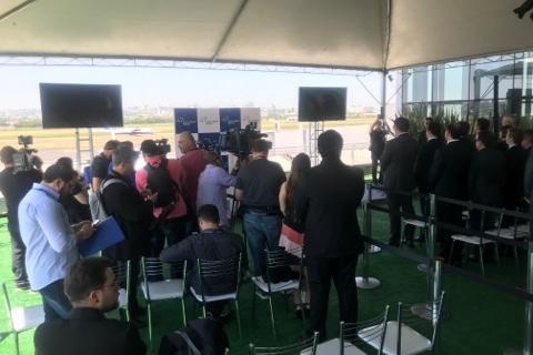 Fraport entrega obras no aeroporto de Porto Alegre