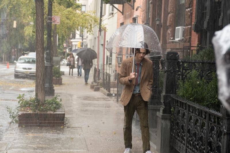 'Um dia de chuva em Nova York' é um retorno do diretor para Manhattan