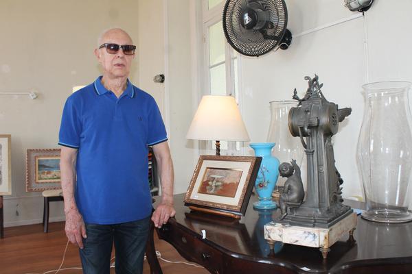 Leilão de arte de Paulo Gasparotto, no Asilo Padre Cacique