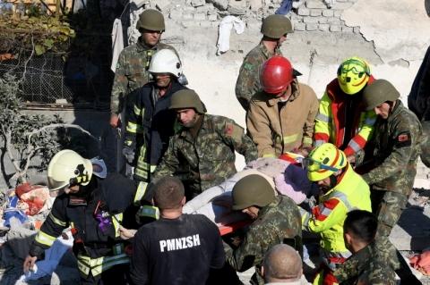 Terremoto de 6,4 graus de magnitude na Albânia deixa ao menos 11 mortos