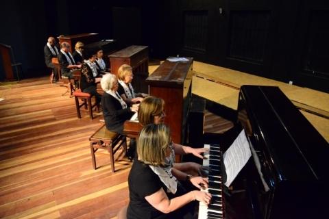 Projeto 'Pianistas de Bagé' tem apresentação neste sábado em Gramado