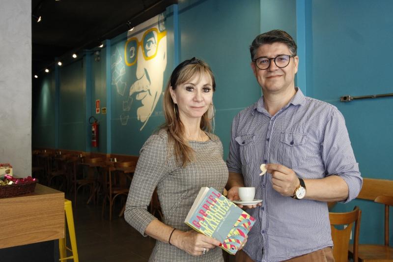Café de Rosele e Antonio homenageia Gabriel Garcia Márquez