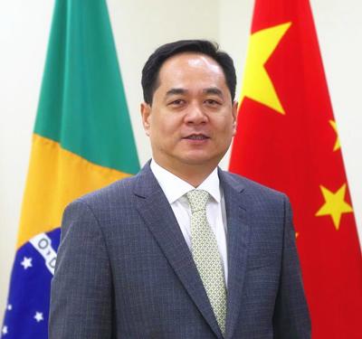 Yang Wanming assumiu a diplomacia chinesa no Brasil em dezembro de 2018