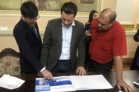 Projeto de teleférico para Porto Alegre foi apresentado ao prefeito Marchezan