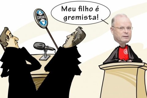 Futebol jurídico numa causa de R$ 15 milhões