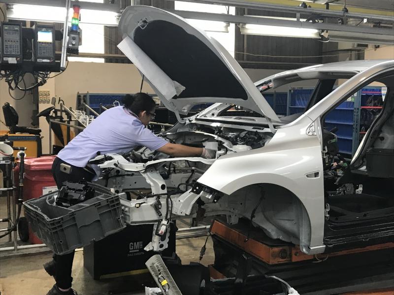 No acumulado do primeiro trimestre, as montadoras produziram 597,8 mil veículos