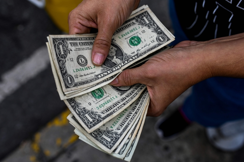Às 10h28min desta sexta, o dólar à vista estava na máxima, aos R$ 4,1835