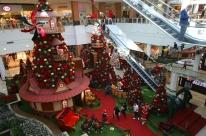 Decoração de Natal vira foco para atrair clientes