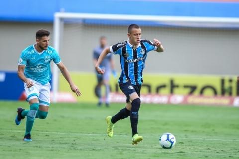 Garotada do Grêmio se esforça, mas acaba perdendo para Goiás