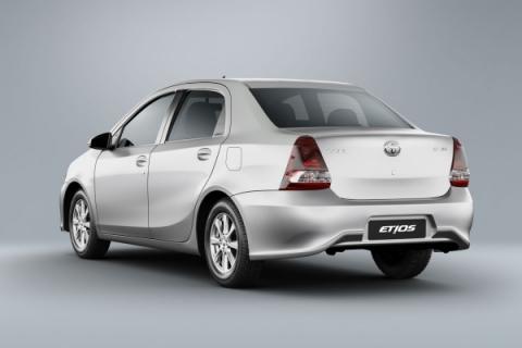 Toyota oferece kit GNV certificado para o Etios Sedã