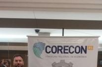 Repórter do JC recebe prêmio do Corecon-RS
