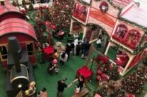 Decorações temáticas dos shoppings de Canoas são opção às crianças na véspera de Natal