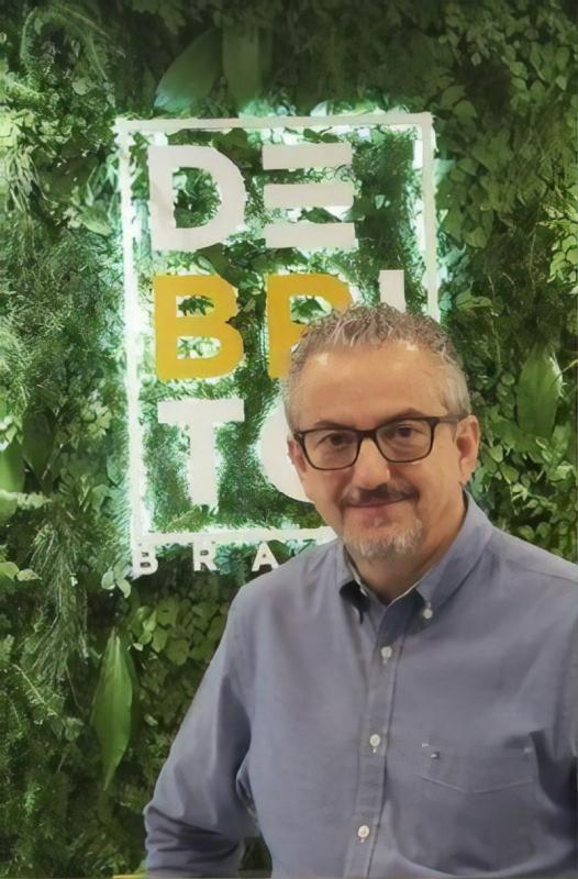 Geraldo de Brito,  sócio-diretor da DeBrito