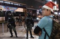 Natal em Hong Kong tem 25 feridos em confrontos entre polícia e manifestantes