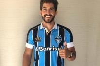 Volante Lucas Silva é o primeiro reforço do Grêmio anunciado neste ano