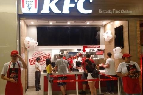 KFC inaugura primeira operação no Rio Grande do Sul