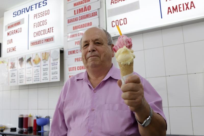 João Klein  fundou a Sorveteria Joia em 1978
