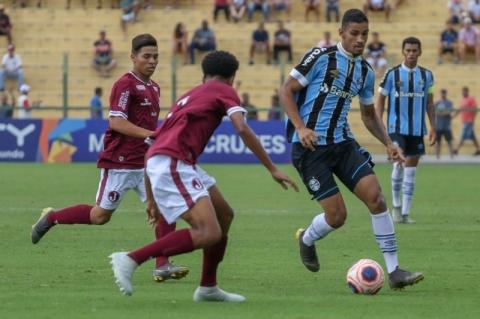 Grêmio empata com Juventus e embola Grupo 21 da Copinha