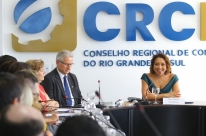 Ana Tércia Rodrigues é reconduzida à presidência do CRCRS