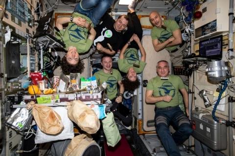 Como foi o réveillon de astronautas na Estação Espacial Internacional