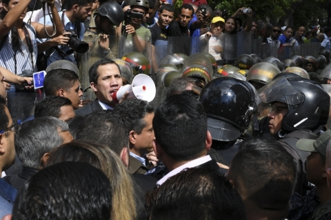 Juan Guaidó convoca manifestações para os próximos dias na Venezuela