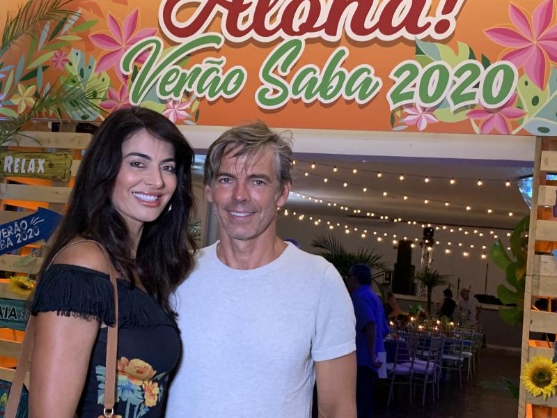 Adriana Moraes e Marcos Naconecy em Atlântida