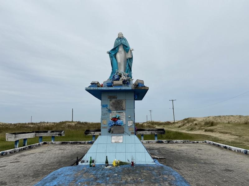 Festividades como a que ocorre para Iemanjá, na praia do Cassino, estão suspensas