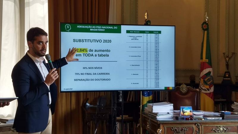Proposta incorpora reajuste de 12,84% do reajuste nacional à tabela apresentada em dezembro