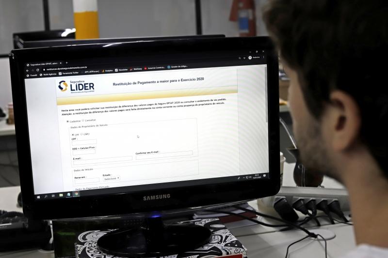 O pedido de reembolso do DPVAT deve ser feito pelo site da Seguradora Líder