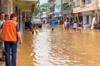 Mais de 2 mil pessoas estão desalojadas no Espírito Santo