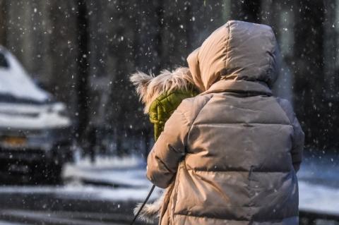 Nova Iorque registra primeira neve mais forte em 2020