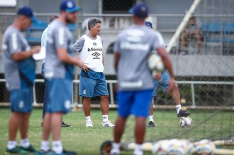 Grêmio com titulares na arrancada do Gauchão