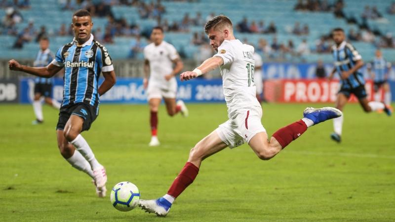 O lateral-esquerdo de 22 anos chega ao tricolor por empréstimo do Atlético de Madri, até o final de 2020