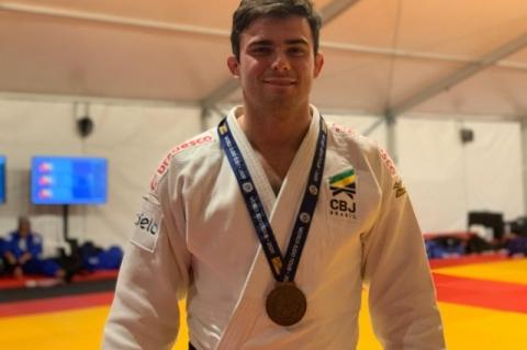Judoca da Sogipa e Seleção Brasileira leva bronze em Israel e fica mais perto de Tóquio