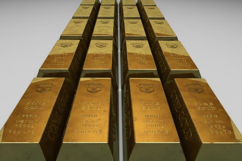 O ouro para fevereiro o dia em leve queda de 0,04%, a US$ 1.582,90 a onça-troy, na Comex