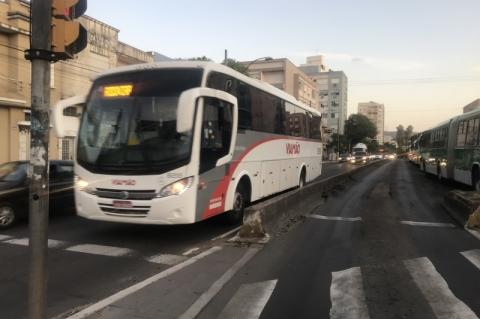 Pedágio que Porto Alegre quer criar atinge ônibus da Região Metropolitana