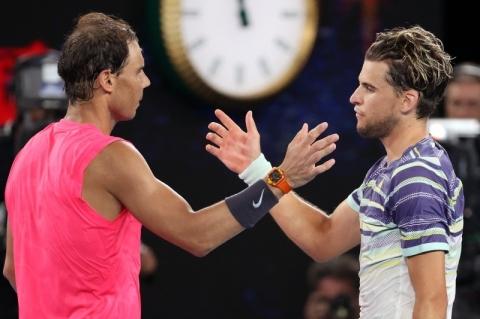Thiem elimina Nadal e faz semifinal com Zverev no Aberto da Austrália