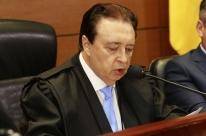 Voltaire de Lima Moraes toma posse na presidência do TJ