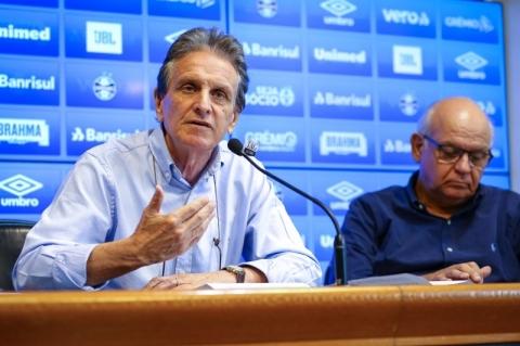Grêmio anuncia novo vice de futebol e completa reforma no vestiário