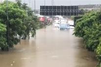 Forte chuva em São Paulo interdita Marginal Tietê e provoca grandes alagamentos