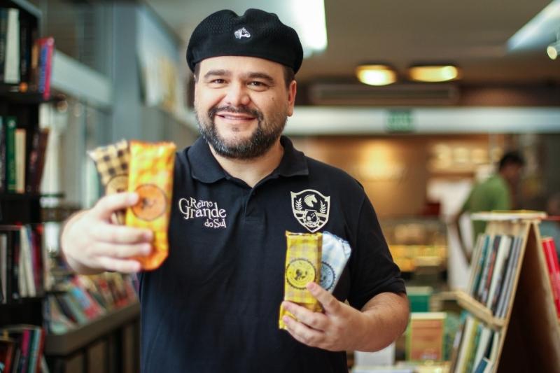 Rodrigo Keller, proprietário da Pingo Paletas Gaúchas