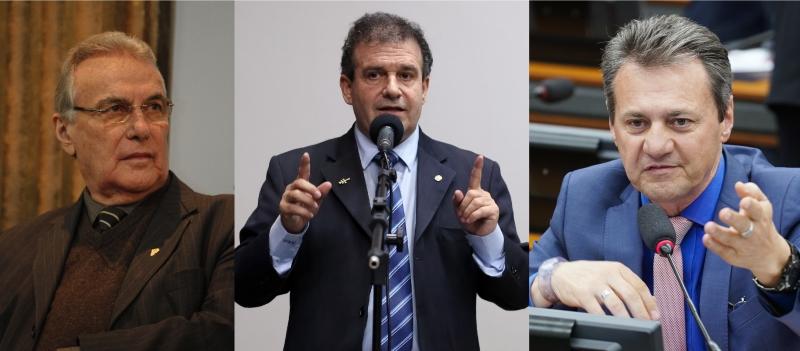 Bernardi (PP) diz que partido apoia mobilização; Mattos (PDT) e Cherini (PL) garantem presença