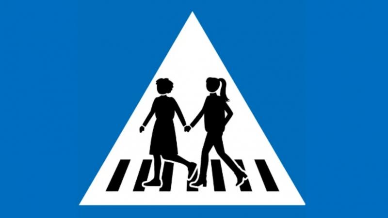 Mudança prevê a troca de 250 das 500 placas que indicam pontos de travessia de pedestres