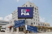Divulgados layouts das novas placas de rua de Porto Alegre