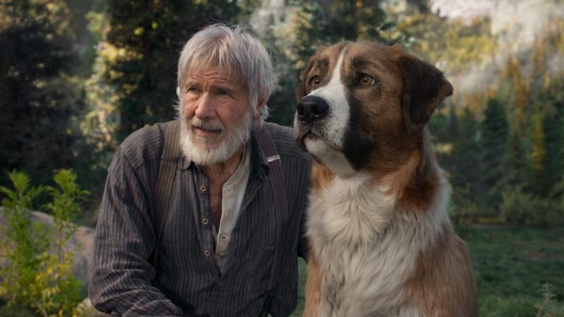 'O chamado da floresta' conta a história de Buck, um animal doméstico em um ambiente hostil