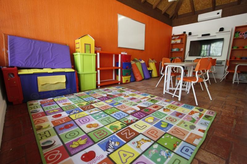 A escola conta com uma estrutura que comporta até 150 alunos