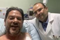 Cid Gomes deixa hospital; dois projéteis continuam no seu corpo