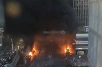 Incêndio atinge a Gare de Lyon, em Paris