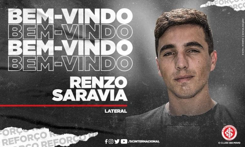 O lateral-direito chega de Portugal, onde atuava pelo Porto, e assinará contrato de empréstimo até o fim do ano
