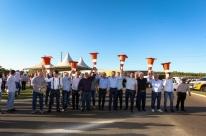 Rodovia que leva  à Expodireto, ERS-142 tem obras inauguradas